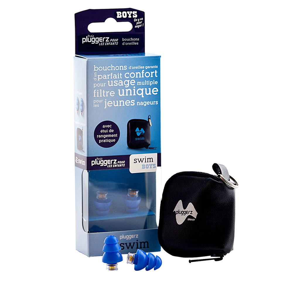 Protection auditive piscine pluggerz expert audition for Protection enfant piscine