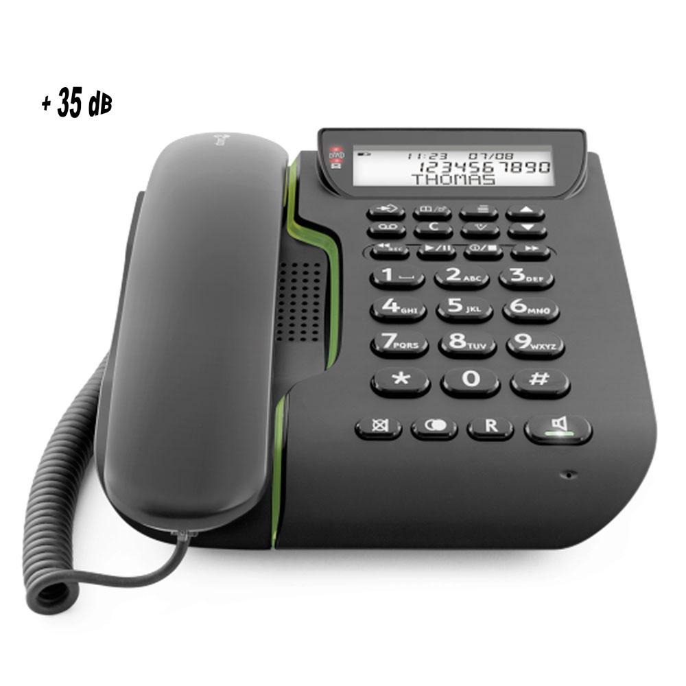 t l phone comfort 3005 doro avec r pondeur int gr amplification 35 db. Black Bedroom Furniture Sets. Home Design Ideas