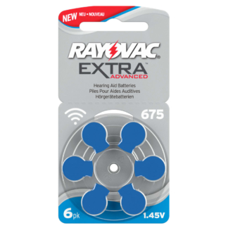 Piles auditives 675 Rayovac 0% mercure