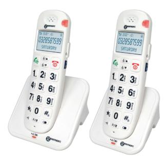 Téléphone Amplidect 260 version duo