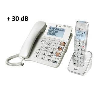 Téléphone Amplidect Combi 295 Geemarc